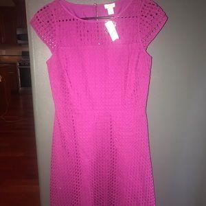 J Crew eyelet Dress Size 2 cotton